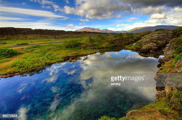 þingvellir iceland thingvellir - thingvellir stock photos and pictures