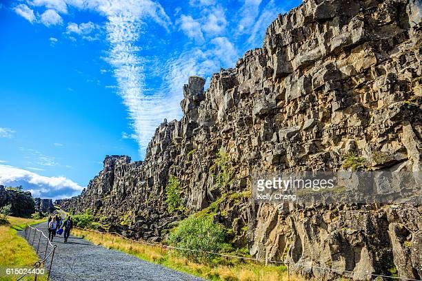 þingvellir national park - pingvellir national park stock photos and pictures