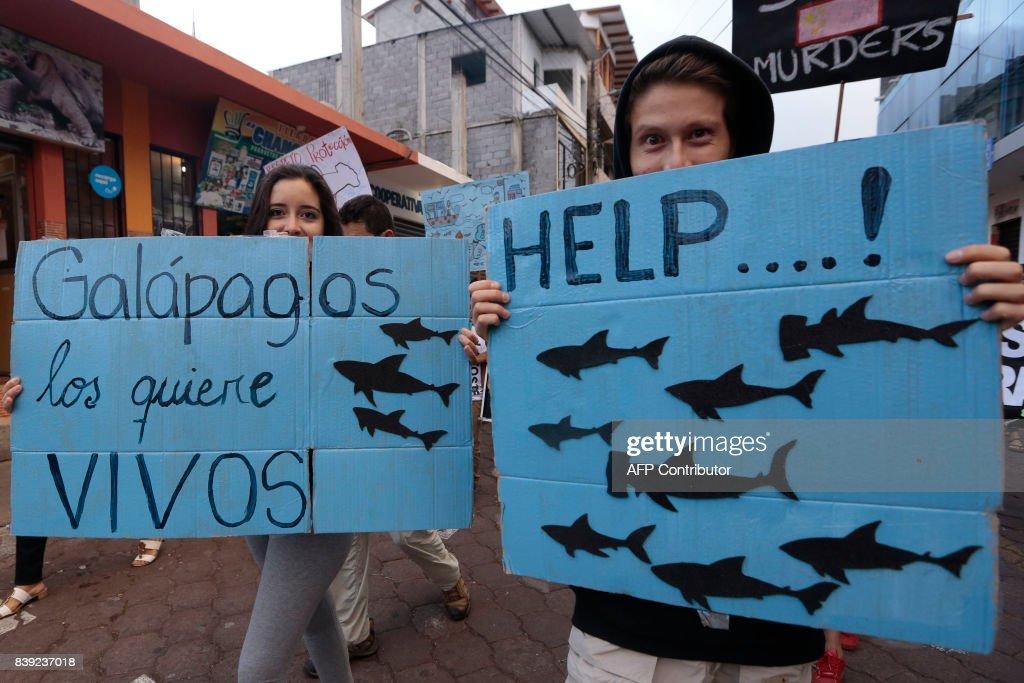 ECUADOR-FISHING-LABOR : News Photo