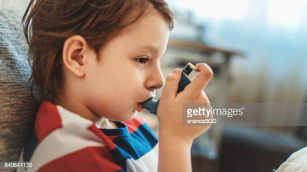 inhaler - asthmatic stock photos and pictures