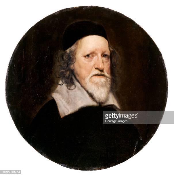 Inigo Jones , English architect, 17th Century. Painting in Chiswick House, London. Artist William Dobson.