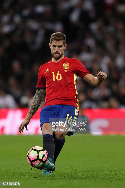 Inigo Martinez of Spain during the International Friendly between England and Spain at Wembley Stadium on November 15 2016 in London England