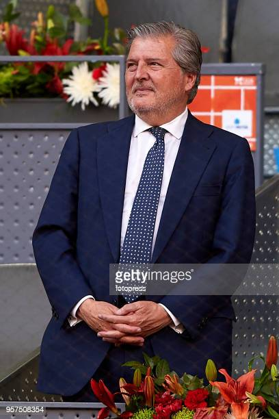 Inigo Mendez de Vigo attends day seven of the Mutua Madrid Open at La Caja Magica on May 11 2018 in Madrid Spain