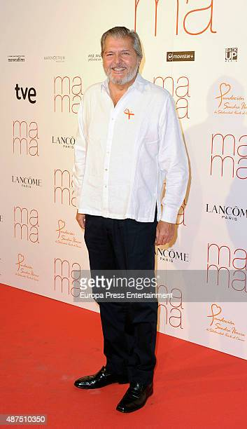 Inigo Mendez de Vigo attends 'Ma ma' charity premiere on September 9 2015 in Madrid Spain