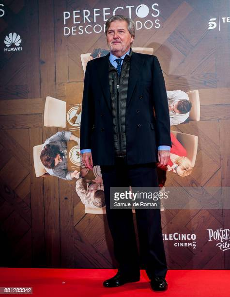 Inigo Mendez de Vigo attends 'Perfectos Desconocidos' premiere at the Capitol Cinema on November 28 2017 in Madrid Spain