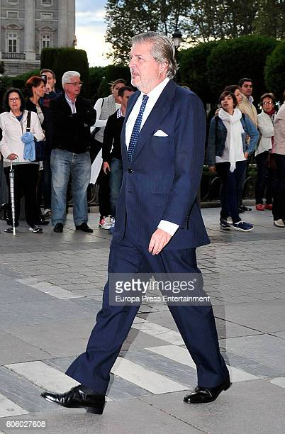 Inigo Mendez de Vigo attends the opening of the Royal Theatre new season on September 15 2016 in Madrid Spain
