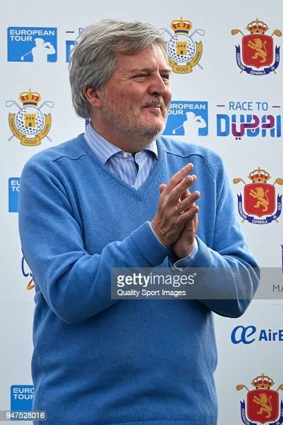 Inigo Mendez de Vigo during day four of Open de Espana at Centro Nacional de Golf on April 15 2018 in Madrid Spain