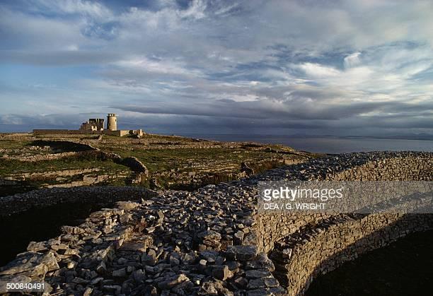 Inishmore lighthouse Inishmore Aran Islands Ireland