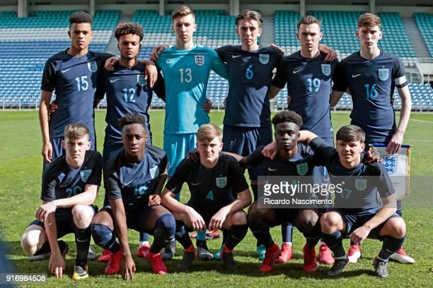 Initial Team of England U17 Mason Greenwood Dylan Crowe Luca Ashby Hammond Luis Binks Jack Nolan Jimmy Garner Matt Daly Arvin Appiah Thomas Doyle...