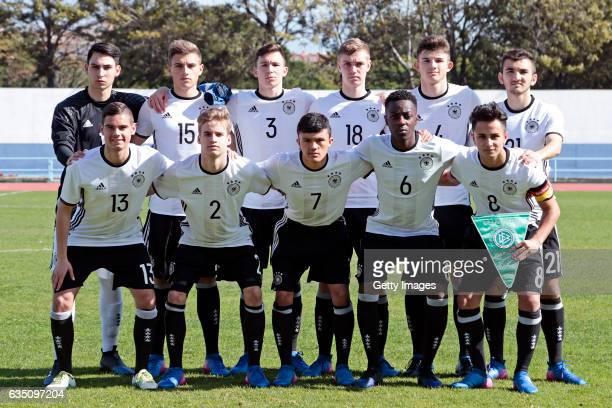 initial team of Germany U16 Sebastian Hornung Alexander Kopf Oscar Schönfelder Julian Albrecht Antonis Aidonis Erkan Eyibil Patrick Finger Jannis...