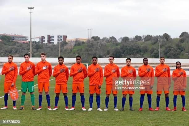 Initial team of Netherlands U17 Liam van Gelderen Mees Bakker Ramon Hendriks Shurandy Sambo Jurrien Maduro Quinten Maduro Enric Llansana Beuse Manuel...