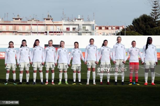 Initial team of U16 Girls Germany Beke Sterner Katharina Piljic Julia Landenberger Romy Baraniak Noelle Maier Lena Strothmann Emily Tichelkamp Annika...