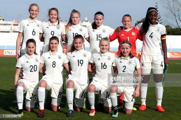 Initial team of U16 Girls Germany Camilla Kuever Emily Tichelkamp Noelle Maier Katharina Piljic Julia Matuszek Gloria Sedami Adigo Lena Strothmann...