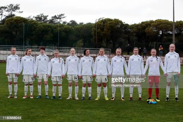Initial team of U16 Girls Germany Trinity Kunzel Tuana Shanis Keles Leonie Stohr Eva Holtmeijer Muriel Kroflin Luise Wildner Josefine Neß Mia Buchele...