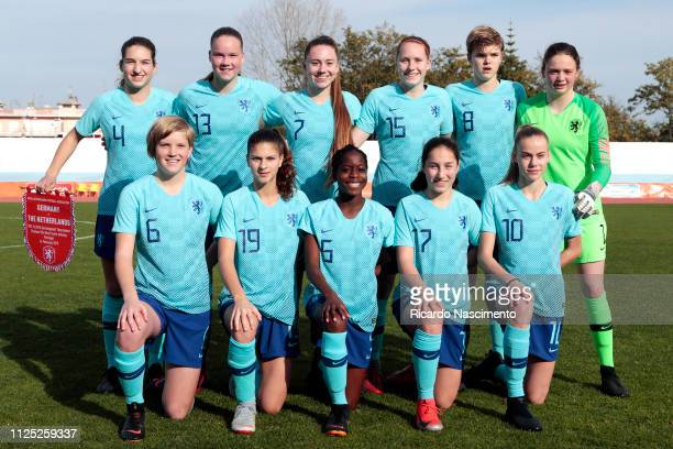 Initial team of U16 Girls Netherlands Emmeke Henschen Fenna Meijer Zera Hulswit Kathelyn Hendriks Dieke van Straten Nikki de Haan Jil Diekman Danique...