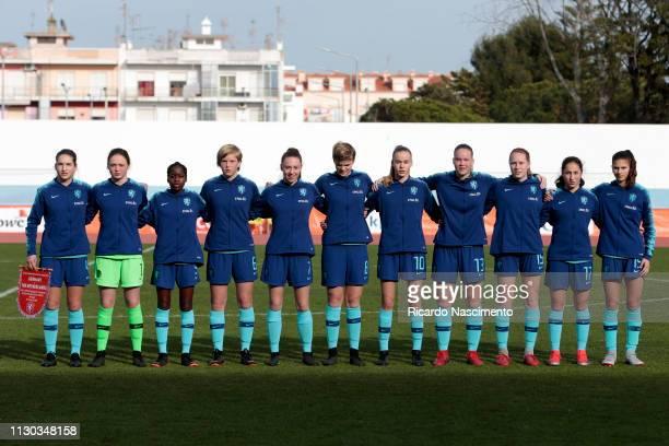 Initial team of U16 Girls Netherlands Emmeke Henschen Nikki de Haan Ana Nassette Jil Diekman Zera Hulswit Dieke van Straten Jet van der Veen Fenna...