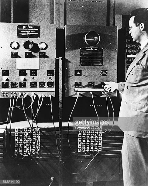 Initiating and cyclihng units of ENIAC April 1946