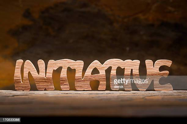 Initiative: Letters Handcut from Wood