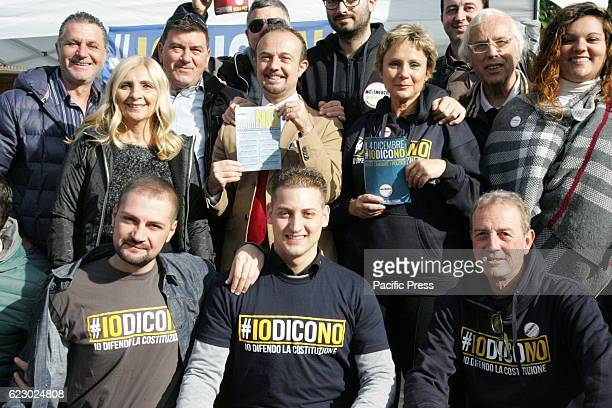 Initiative to Arzano Activists M5S of Arzano to inform the citizens about the reasons of NO, with Senator Sergio Puglia and the Regional Director...