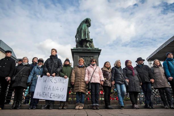 DEU: Mourners Gather In Hanau Following Mass Shooting