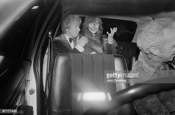 Injured guests leave the Grand Hotel in Brighton after a bomb attack by the IRA 12th October 1984 British Prime Minister Margaret Thatcher and many...