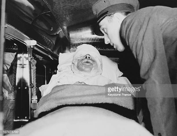 Injured Of The Dirigible Hindenburg S Accident In Usa On July 1937