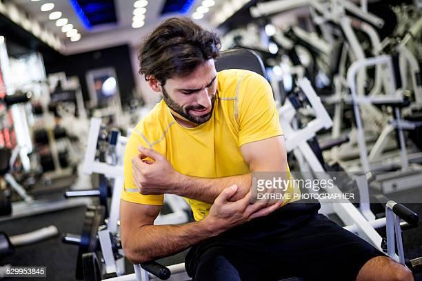 Verletzungen während workout