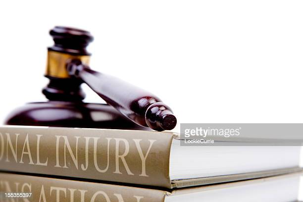 injury law - personal injury stock photos and pictures