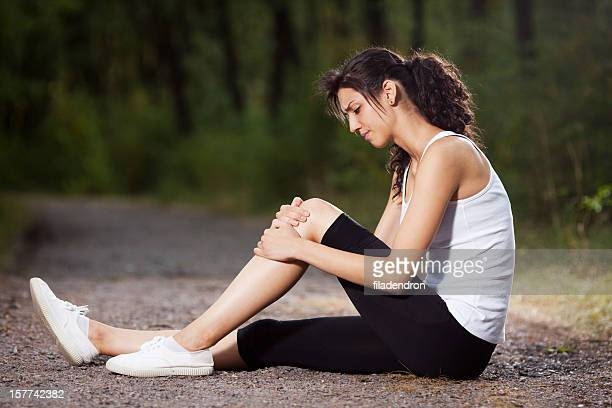 injury - human knee stock pictures, royalty-free photos & images