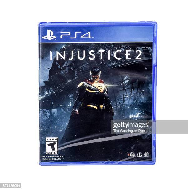Injustice 2 video game one of the items for the Post's annual gift guide on October 2017 in Washington DC