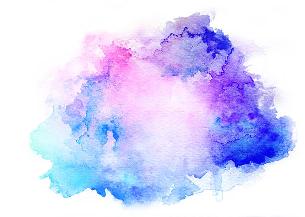 Purple Galaxy Colored Paint