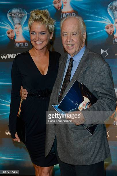 Inka Bause and Wolfgang Rademann attend 'The Wyld Nicht von dieser Welt' Premiere at FriedrichstadtPalast on October 23 2014 in Berlin Germany