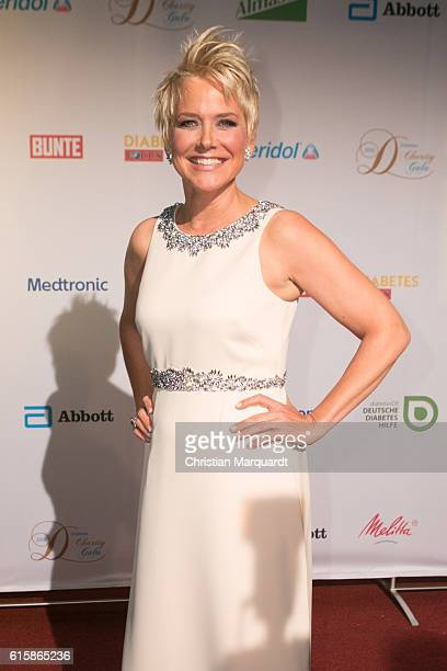 Inka Bause attends the 6th Diabetes Charity Gala at TIPI am Kanzleramt on October 20 2016 in Berlin Germany