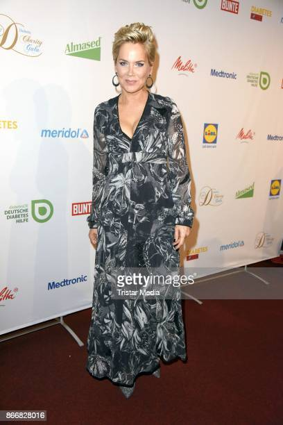 Inka Bause attends the 7th Diabetes Charity Gala at TIPI am Kanzleramt on October 26 2017 in Berlin Germany