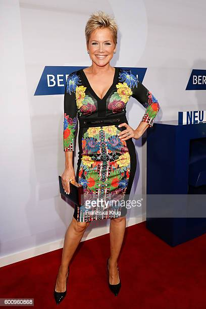 Inka Bause attends the Bertelsmann Summer Party at Bertelsmann Repraesentanz on September 8 2016 in Berlin Germany
