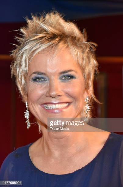 Inka Bause attends the Diabetes Charity Gala at Tipi am Kanzleramt on October 24, 2019 in Berlin, Germany.