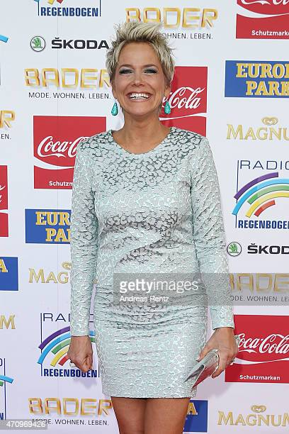 Inka Bause attends the Radio Regenbogen Award 2015 at Europapark on April 24 2015 in Rust Germany