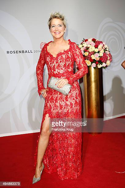 Inka Bause attends the Rosenball 2014 on May 31 2014 in Berlin Germany