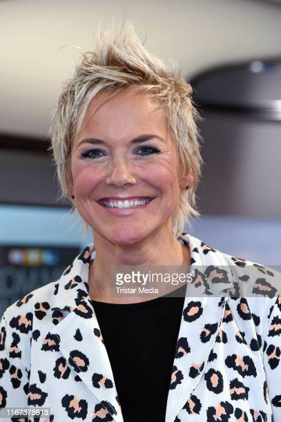 """Inka Bause attends the """"RTL Com.mit Award"""" at IFA Messe on September 11, 2019 in Berlin, Germany."""