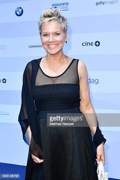 Inka Bause attends the summer party of Produzentenallianz on July 5 2016 in Berlin Germany