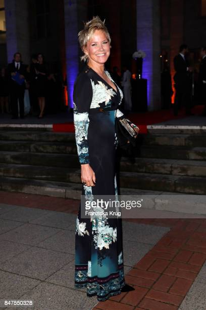 Inka Bause attends the UFA 100th anniversary celebration at Palais am Funkturm on September 15 2017 in Berlin Germany