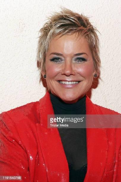 "Inka Bause during the ARD TV show ""Das Adventsfest der 100.000 Lichter"" on November 30, 2019 in Suhl, Germany."