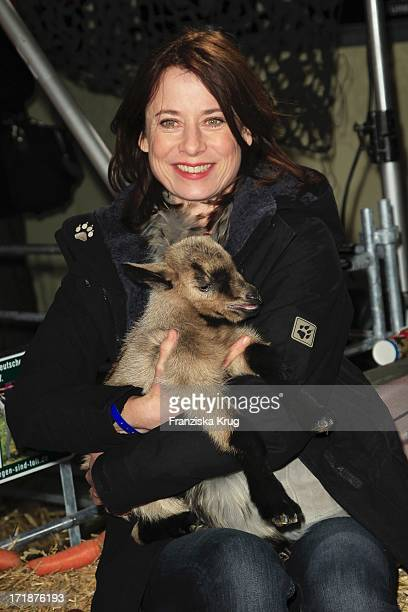 """Inka Friedrich at the Premiere Of Charity movie """"Men Who Stare at Goats"""" In the cinema, the culture brewery in Berlin"""
