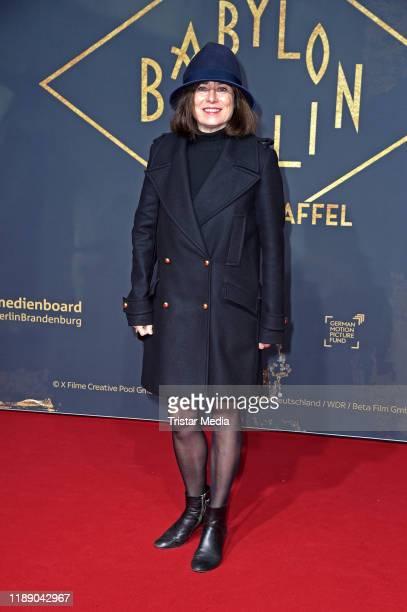 "Inka Friedrich attends the 3rd season ""Babylon Berlin"" TV series world premiere at Zoo Palast on December 16, 2019 in Berlin, Germany."