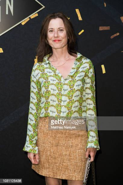 Inka Friedrich attends the 'Babylon Berlin Golden Hours' premiere at Bar Tausend on September 10 2018 in Berlin Germany