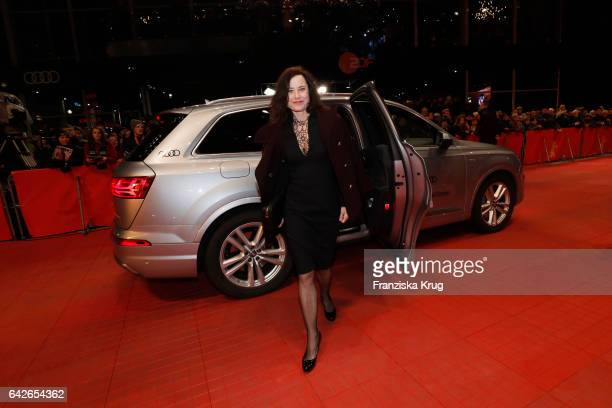 Inka Friedrich attends the closing ceremony of the 67th Berlinale International Film Festival at Berlinale Palace on February 18, 2017 in Berlin,...