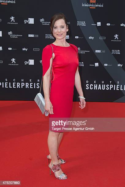 Inka Friedrich attends the 'Deutscher Schauspielerpreis 2015' at Zoopalast on May 29 2015 in Berlin Germany