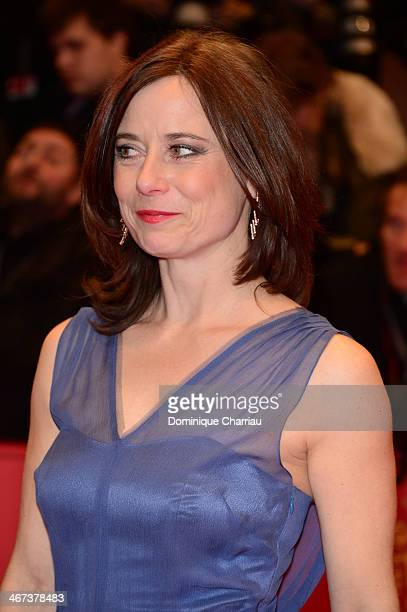 Inka Friedrich attends 'The Grand Budapest Hotel' Premiere during the 64th Berlinale International Film Festival at Berlinale Palast on February 6,...