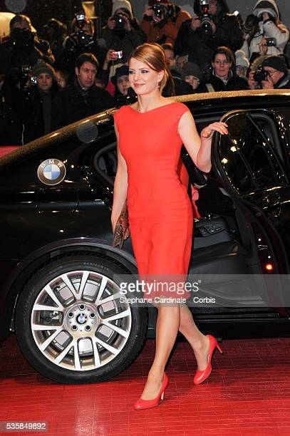 Inka Friedrich attends The Grandmaster Premiere during the 63rd Berlinale International Film Festival at Berlinale Palast in Berlin.