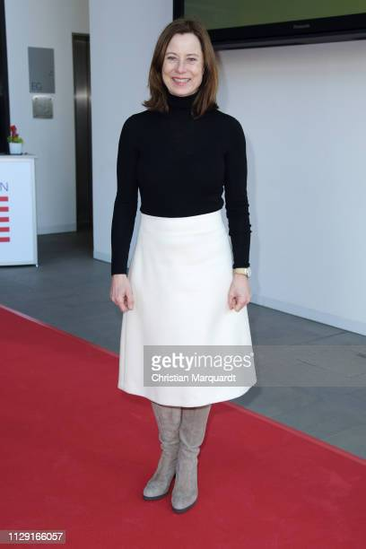 Inka Friedrich attends the Hessian reception during the 69th Berlinale International Film Festival on February 12, 2019 in Berlin, Germany.